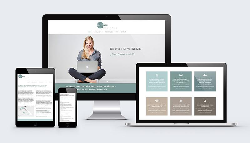 Webkonzeption und Homepage für Ärzte